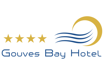 our logo of gouves bay hotel