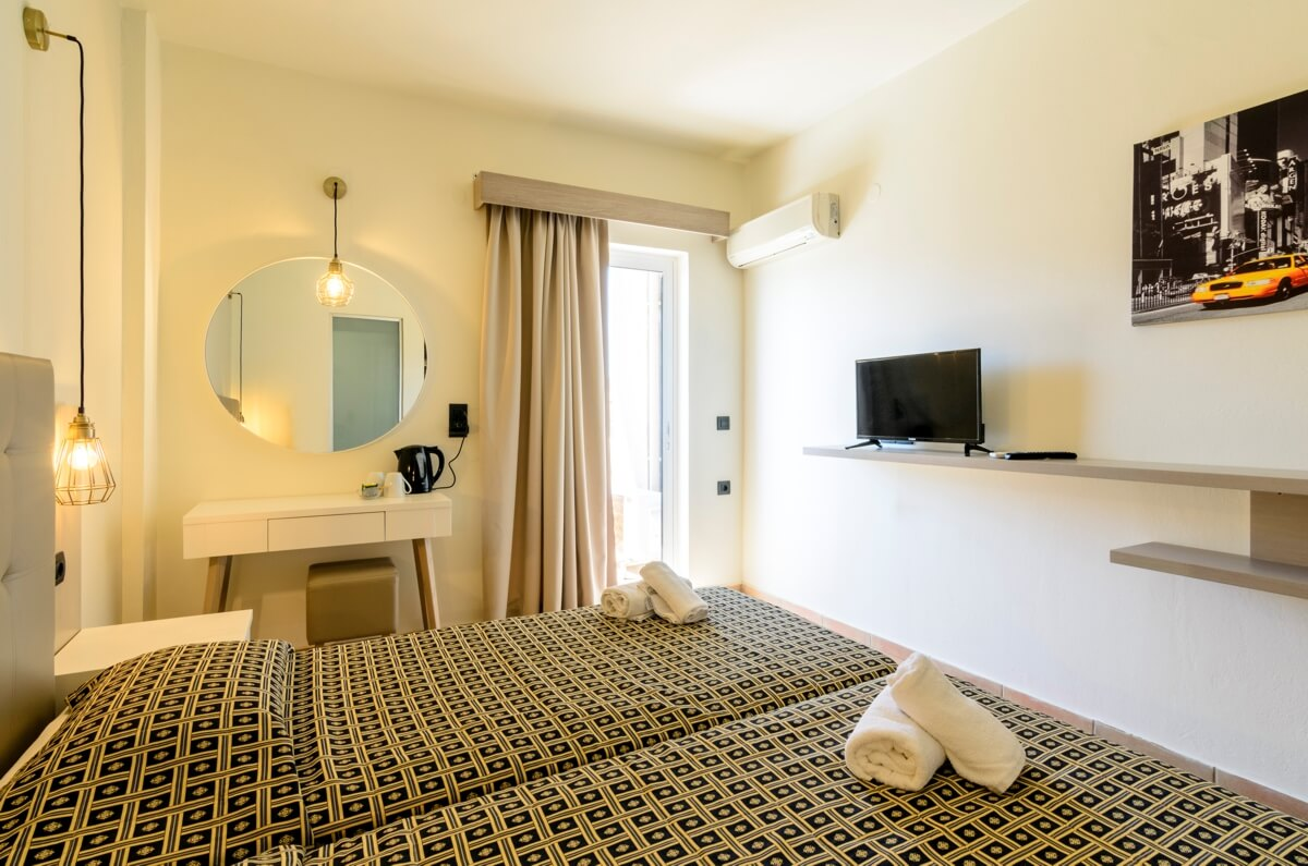 double room with office